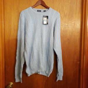 Izod light blue sweater